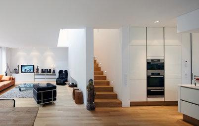 Casas Houzz: Estilo minimalista… y muchos rincones originales