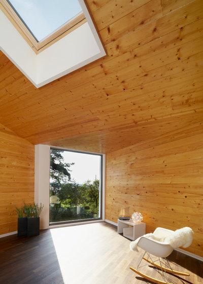 Modern Wohnbereich by Archibald Büro