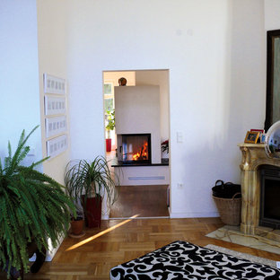 Neuer Heizkamin in stilvoll renovierter Altbau VILLA