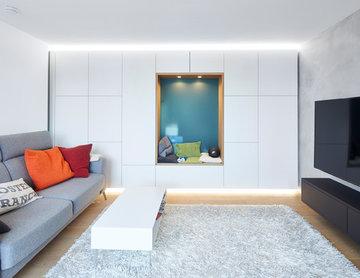 Neues Design für ein Apartment