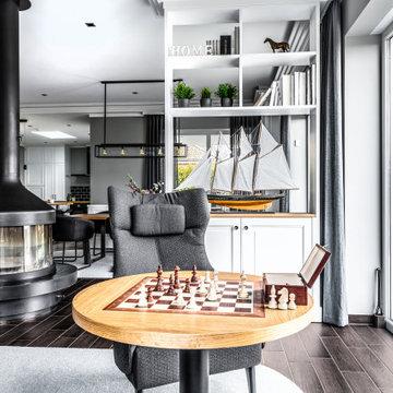 Neugestaltung Küchen-/Ess- und Wohnbereich