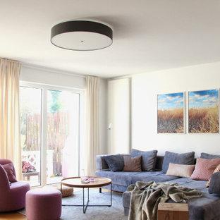 Modernes Wohnzimmer in Frankfurt am Main