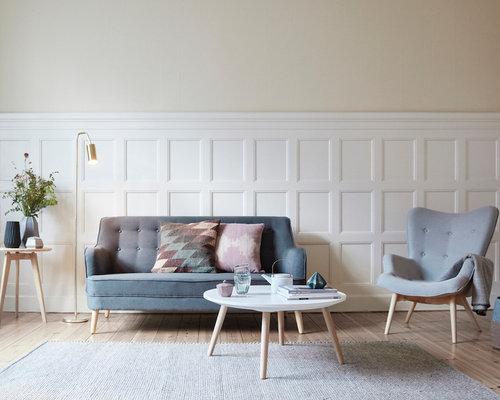 wohnzimmer im skandinavischen stil: appartement einrichten