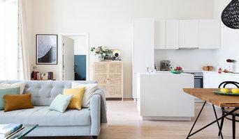 Offener Wohn-/ Ess-/ Küchenbereich