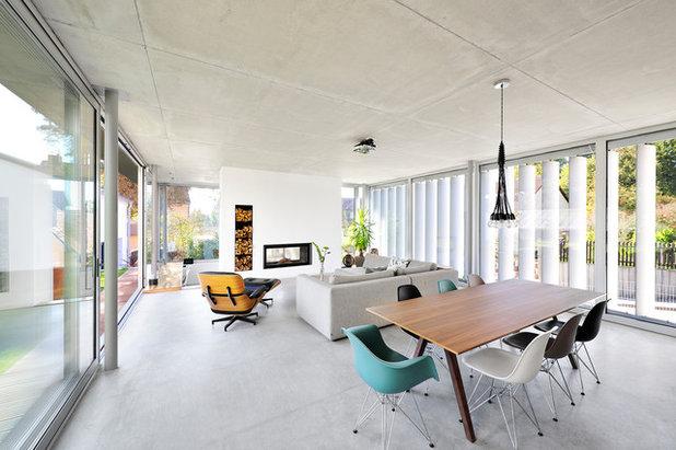 Industrial  Wohnbereich by kühnlein architekten GmbH