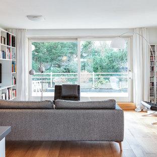 Offener Wohnraum in skandinavischem Stil
