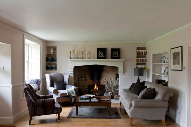 Farmhouse Living Room by Oficina Inglesa Germany