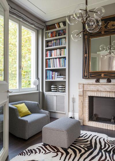 Modern Wohnbereich by Lange Geller Kuehl Interiors