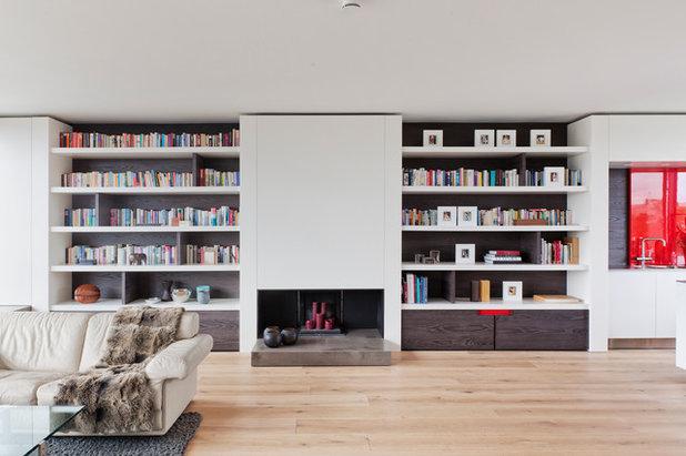 houzzbesuch dezenter luxus in einem penthouse in prenzlauer berg. Black Bedroom Furniture Sets. Home Design Ideas