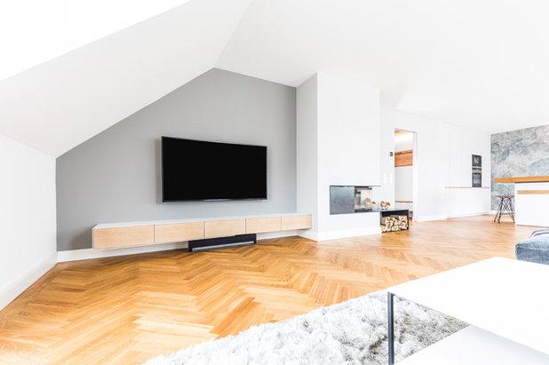 Skandinavisch Wohnbereich by BESPOKE Interior Design & Production
