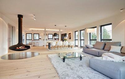 Houzzbesuch: Ein Penthouse im Neubau, individualisiert für zwei