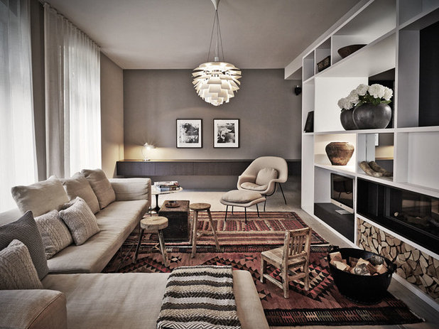 Scandinavian Family & Games Room by Annabell Kutucu Interior Design & Styling