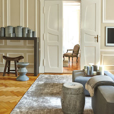 Traditional Living Room by Julia Rafflenbeul Interior Architecture