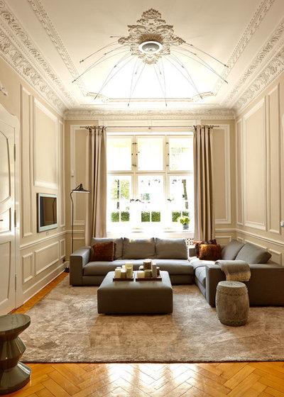 Klassisch Wohnbereich by Julia Rafflenbeul Interior Architecture