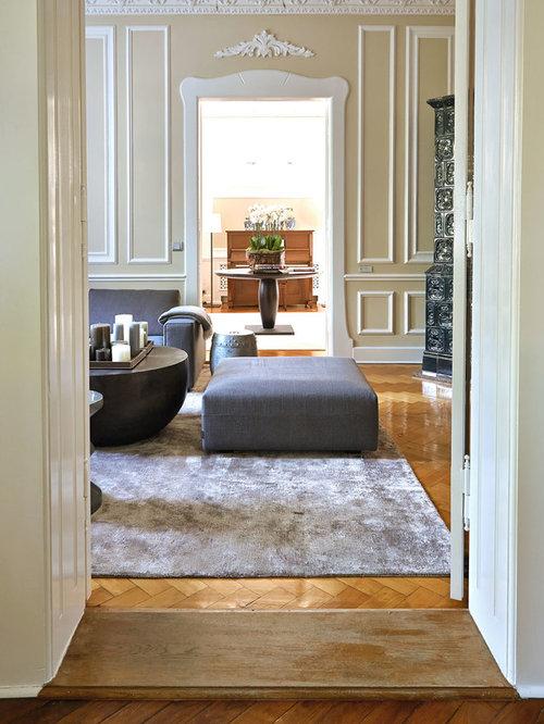 Altbau-Wohnzimmer - Ideen & Bilder  HOUZZ