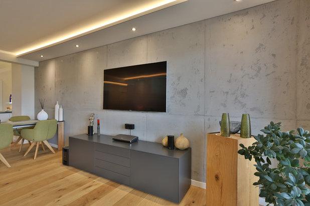 Modern Wohnzimmer by HEYSE - Lifestyle - Malerbetrieb