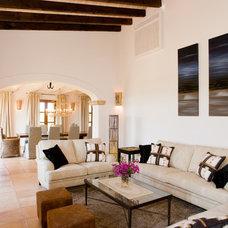 Mediterranean Living Room by Amador Calafat-Busquets & Partner