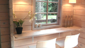 renewal of a log cabin  into a Chalet