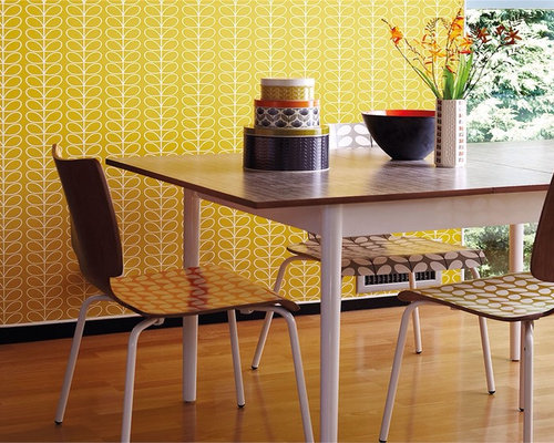 Yellow living room design ideas renovations photos with for Raumgestaltung goerdel