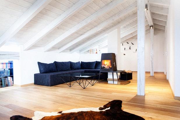 Scandinavian Living Room by BESPOKE Interior Design & Production