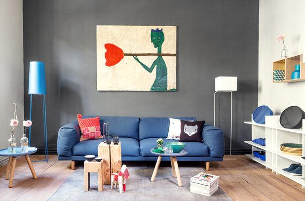 modern wohnzimmer by lyk carpet - Einfache Dekoration Und Mobel Moderne Heizung Fuer Modernes Wohnen