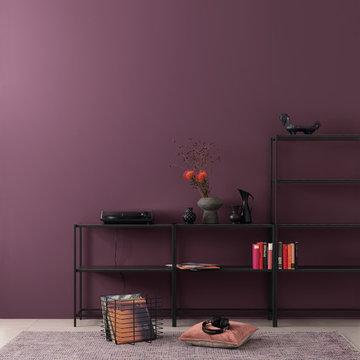 SCHÖNER WOHNEN Designfarben Stilvolles Opalviolett