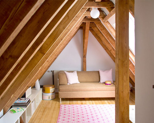 attic family room design ideas - Low Ceiling Attic Home Design Ideas Remodel and