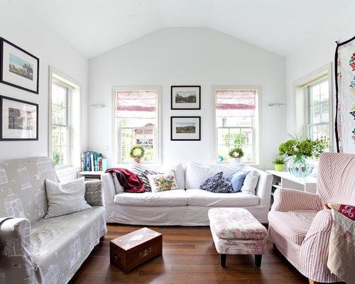 design wohnzimmer couch landhausstil wohnideen fr landhausstil wohnzimmer ideen design houzz - Wohnideen Landhausstil Wohnzimmer