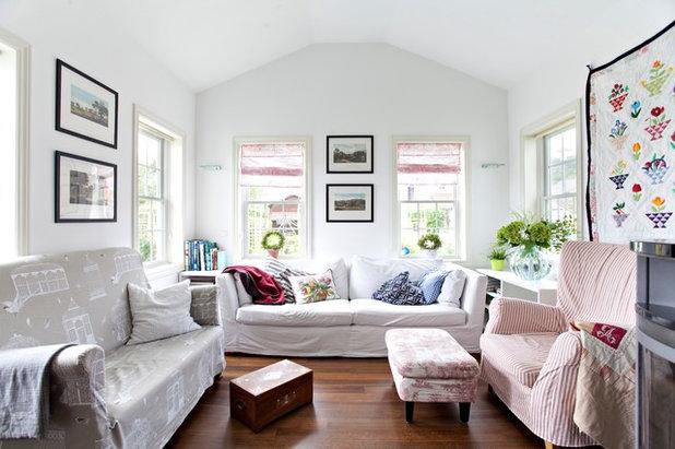 Landhausstil Wohnzimmer by BostonHaus