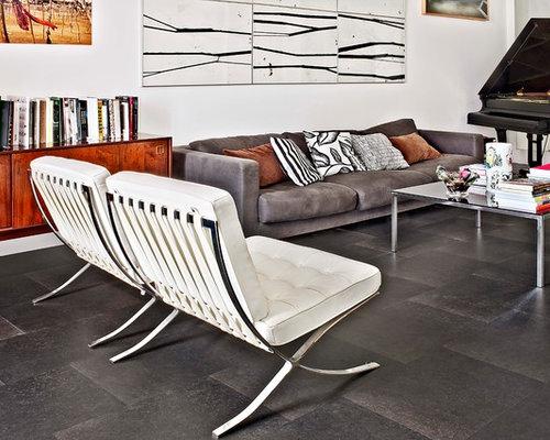 Wohnzimmer mit Schieferboden Ideen, Design & Bilder | Houzz
