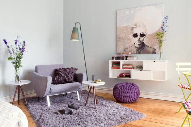 Contemporary Living Room by Co.Laborateure - Die Wohnbildner