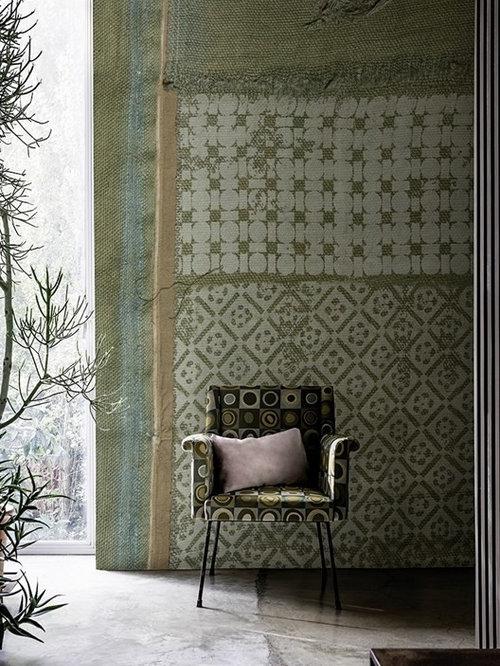 tapeten von wall deco auch wasserfest f r in die dusche. Black Bedroom Furniture Sets. Home Design Ideas