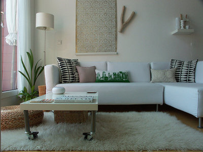 Contemporary Living Room by Domestic Stories with Ivy