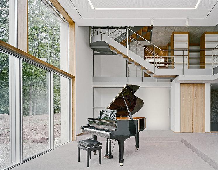 Modern Living Room by Architekturbüro Stocker BDA