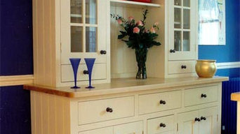 Traditional style painted Dresser