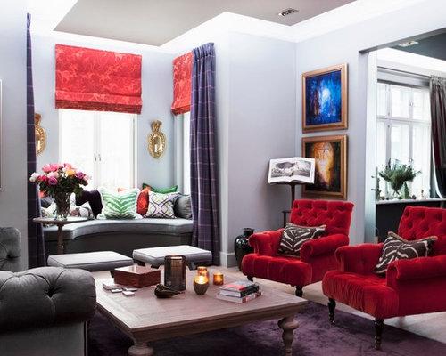 klassische wohnzimmer - ideen, design, bilder & beispiele, Wohnzimmer