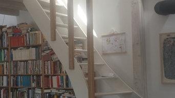 Treppe Bibliothek