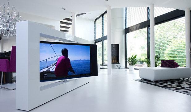 fernseher verstecken oder prominent aufstellen 7 ideen. Black Bedroom Furniture Sets. Home Design Ideas