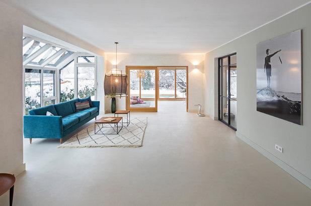 Skandinavisch Wohnbereich by CARLO - Architecture & Interior Design