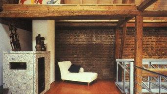 Umbau eines Fachwerkhauses mit Scheune in ein Wohnhaus mit Atelier