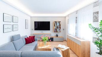 Umbau Wohnzimmer Wien