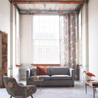 Foto e Idee per Living - living shabby-chic style Amburgo