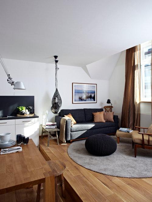 2 Color Coordination Munich Living Room Design Photos Part 69