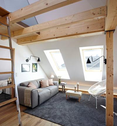 Contemporáneo Sala de estar by Ute Günther wachgeküsst  INNENARCHITEKTUR+DESIGN
