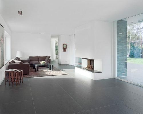 moderne wohnzimmer: design-ideen, bilder & beispiele | houzz, Hause ideen