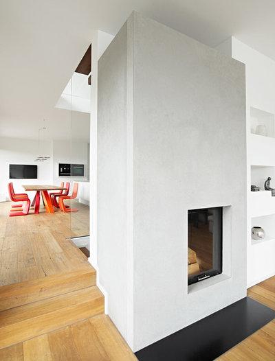 Modern Wohnbereich Villa M