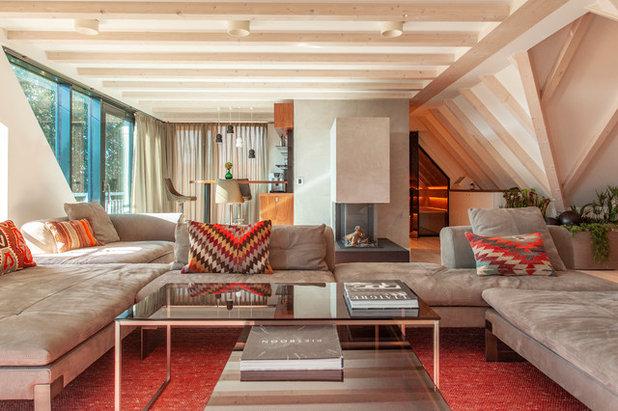 Modern Wohnbereich by SUSANNE KAISER Innenarchitektur Berlin