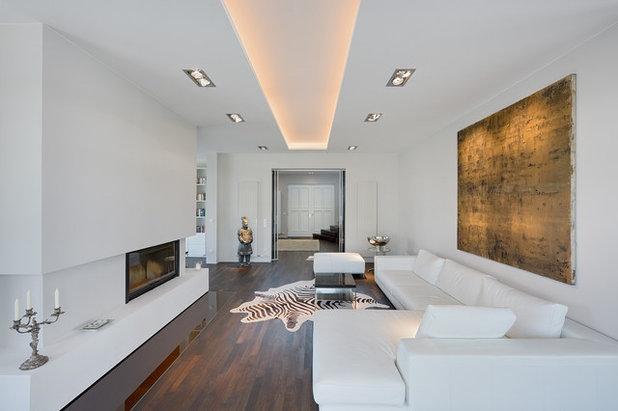 Exceptional Modern Wohnbereich By BERLINRODEO Interior Concepts