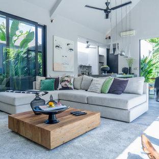 Tropisches Wohnzimmer in München