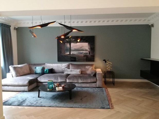 Eklektisch Wohnzimmer by Arzu Kartal Interior Design